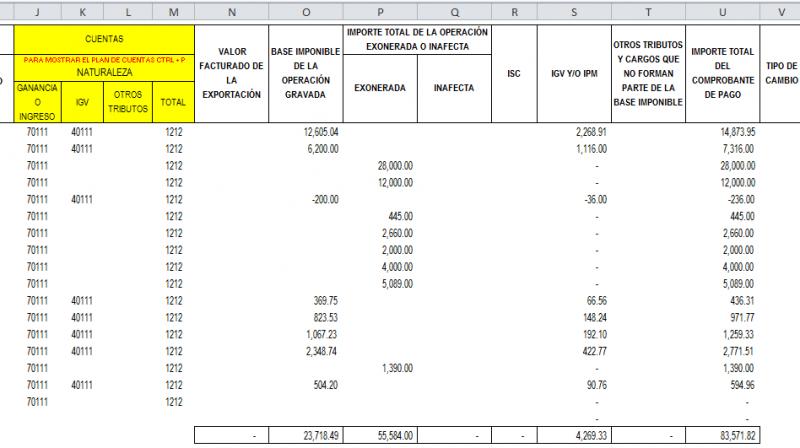 REGISTRO DE VENTAS | Archivo Excel