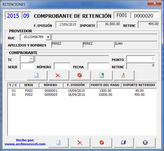 PDT 0626 Agente de Retencion