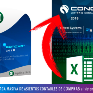 CARGA MASIVA DE ASIENTOS CONTABLES DE COMPRAS DESDE EL EXCEL HACIA EL CONCAR CB o SQL